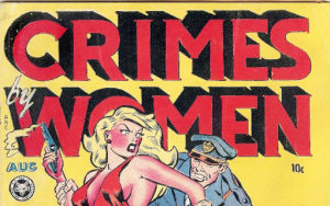 Crimes by Women Comic Book Cover