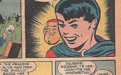 Crimebuster #31 Comic Panels