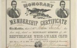 Lincoln Wide Awake Honorary Member